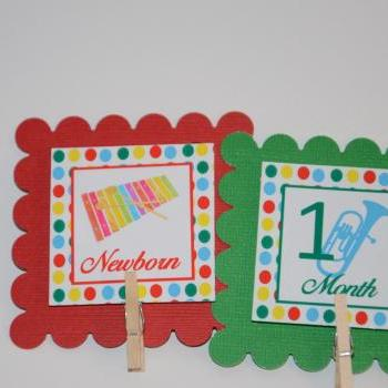 First Year Photo Mini Clips, First Year Banner, Sesame Street Birthday, Sesame Street Theme